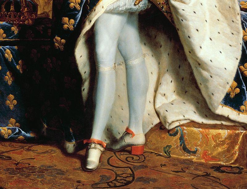 Красные каблуки Людовика XIV
