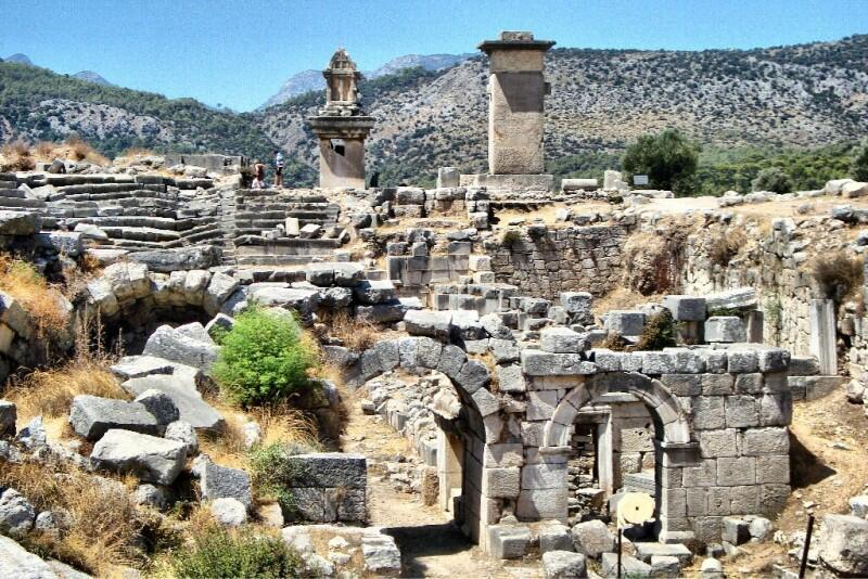 Троя – известная историческая достопримечательность Турции