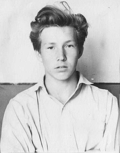 Школьник - Валера Вавилов. Фото автора