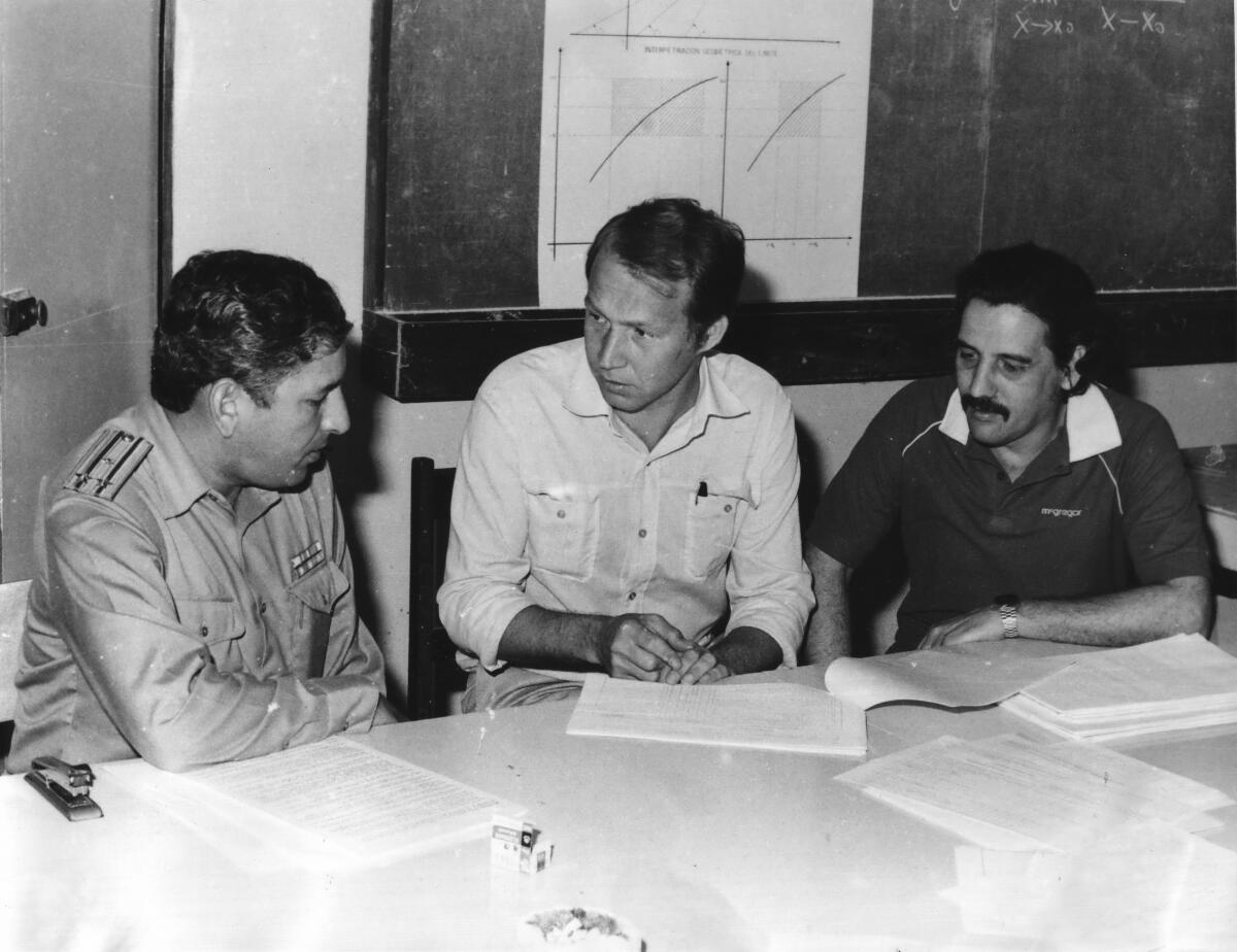 В.В.Вавилов в военно-техническом институте, Гавана, 1983 год
