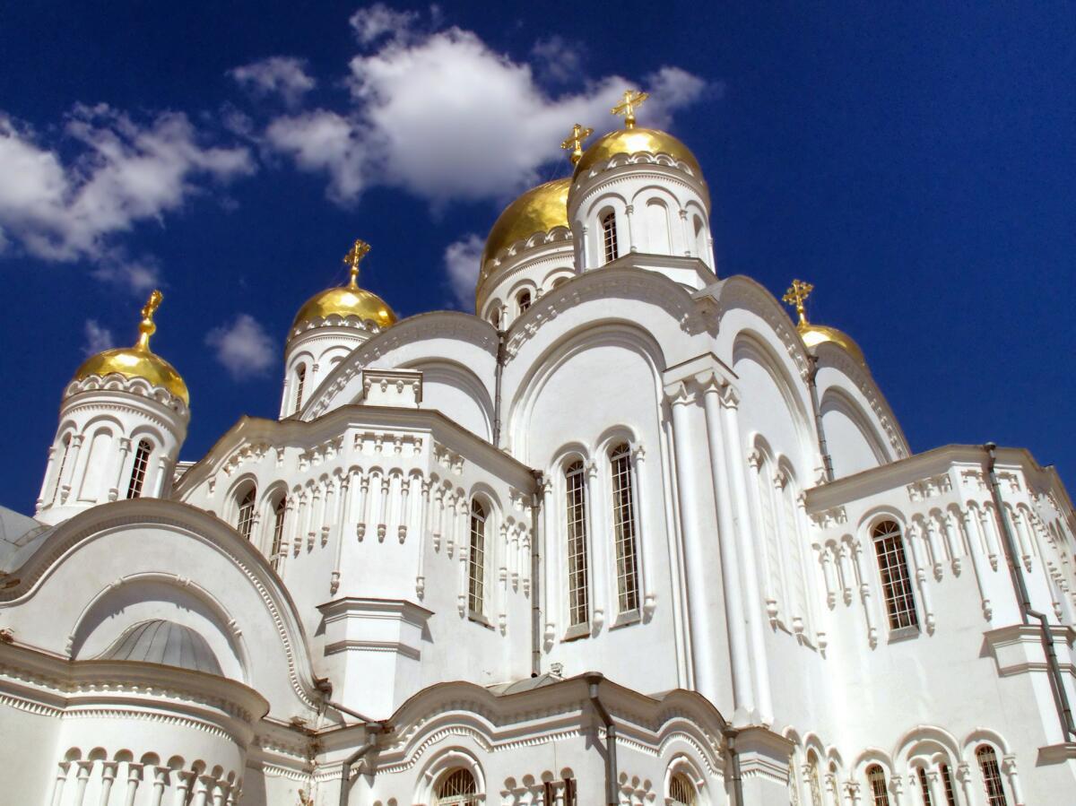 Спасо-Преображенский собор в Дивеево, Россия