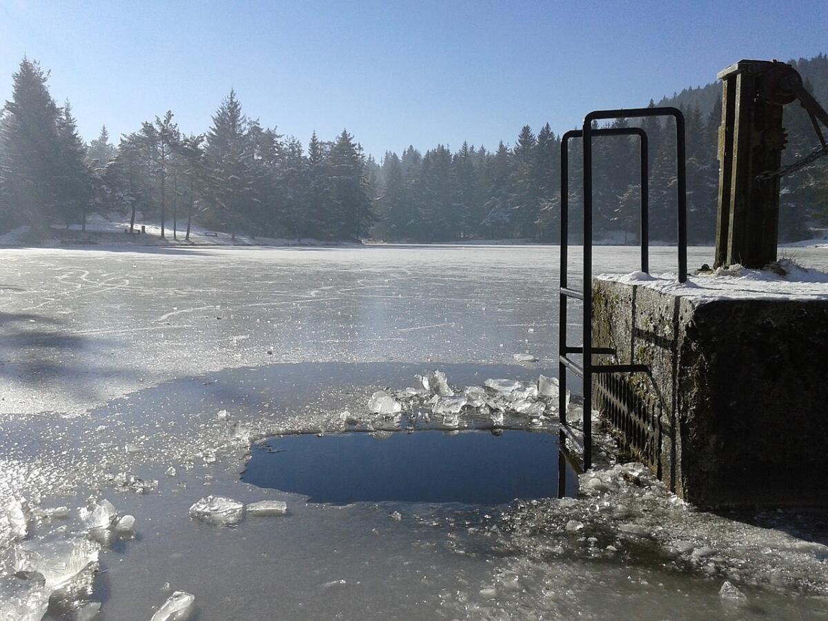 Зимой длительность купания нужно сократить