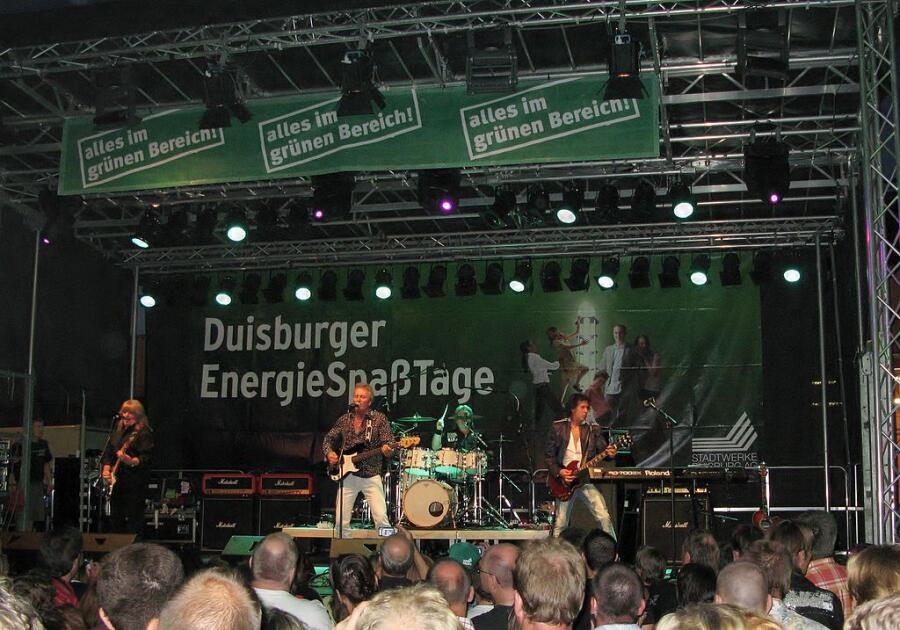 Выступление The Sweet в 2009г