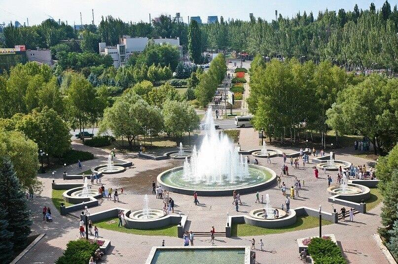 Город Кривой Рог, фонтан