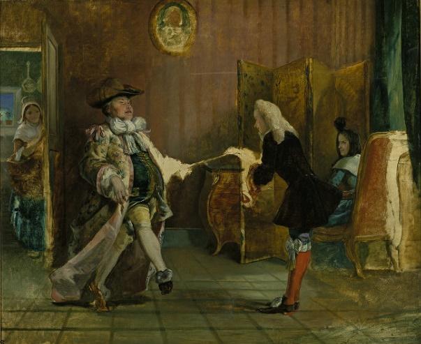 У. П. Фрайт, «Урок танцев для господина Журдена»