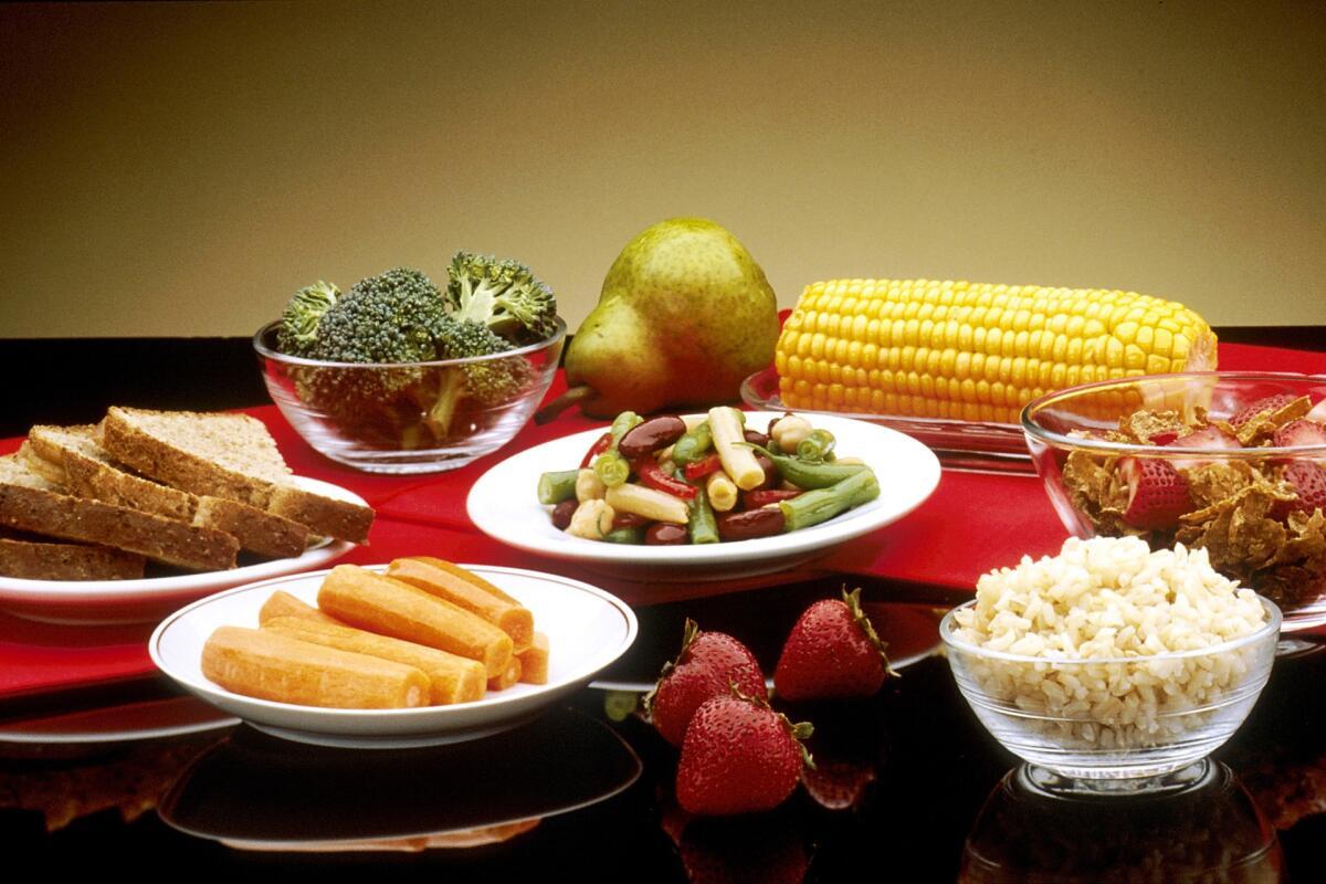 Выбирайте фрукты и овощи насыщенных цветов