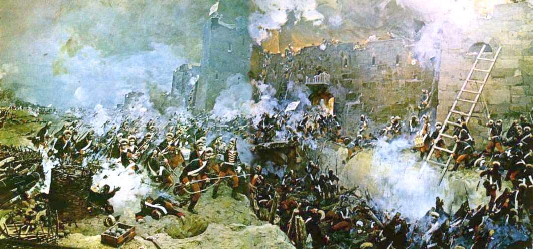 С. Шифляра, «Штурм Измаила 11(22) декабря 1790 г.»