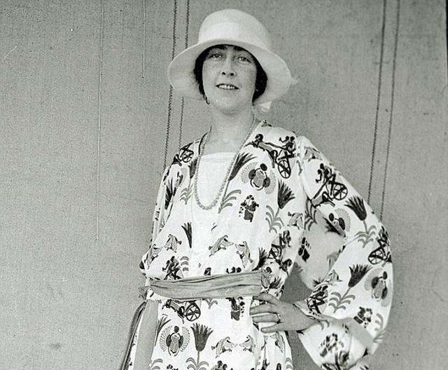 Начинающая писательница 1922 г.