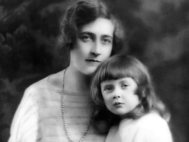 Агата с дочкой Розалиндой