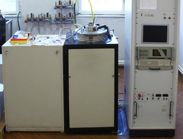 Установка плазмохимического осаждения алмаза УПСА-100