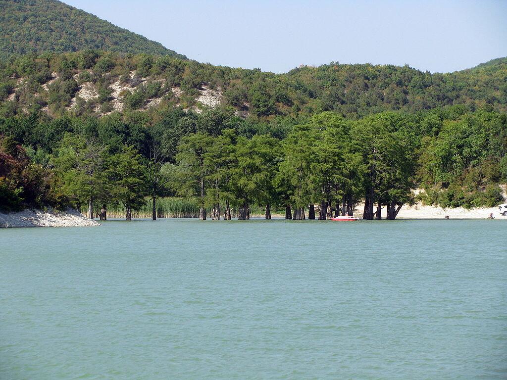 Озеро Сукко в Анапе