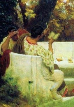С. В. Бакалович. «Римский поэт Катулл, читающий своим друзьям»