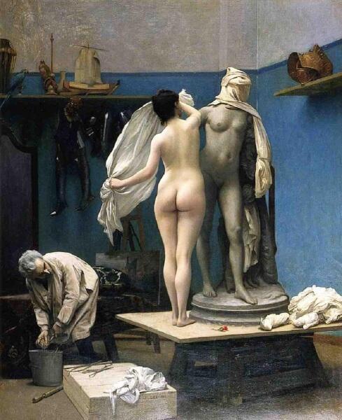 Жан-Леон Жером, Сеанс закончен, 1886,