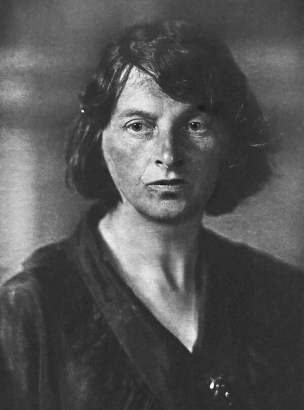 И. Ф. Арманд в 1920г.незадолго до смерти