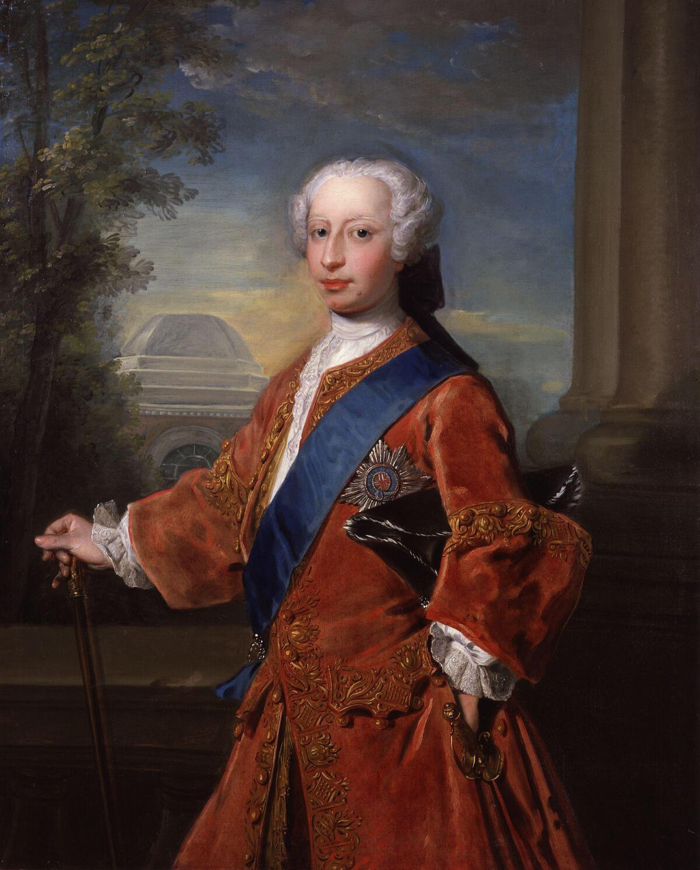 Фредерик Великобританский, портрет кисти Фредерика Мерсье, 1735/1736 год