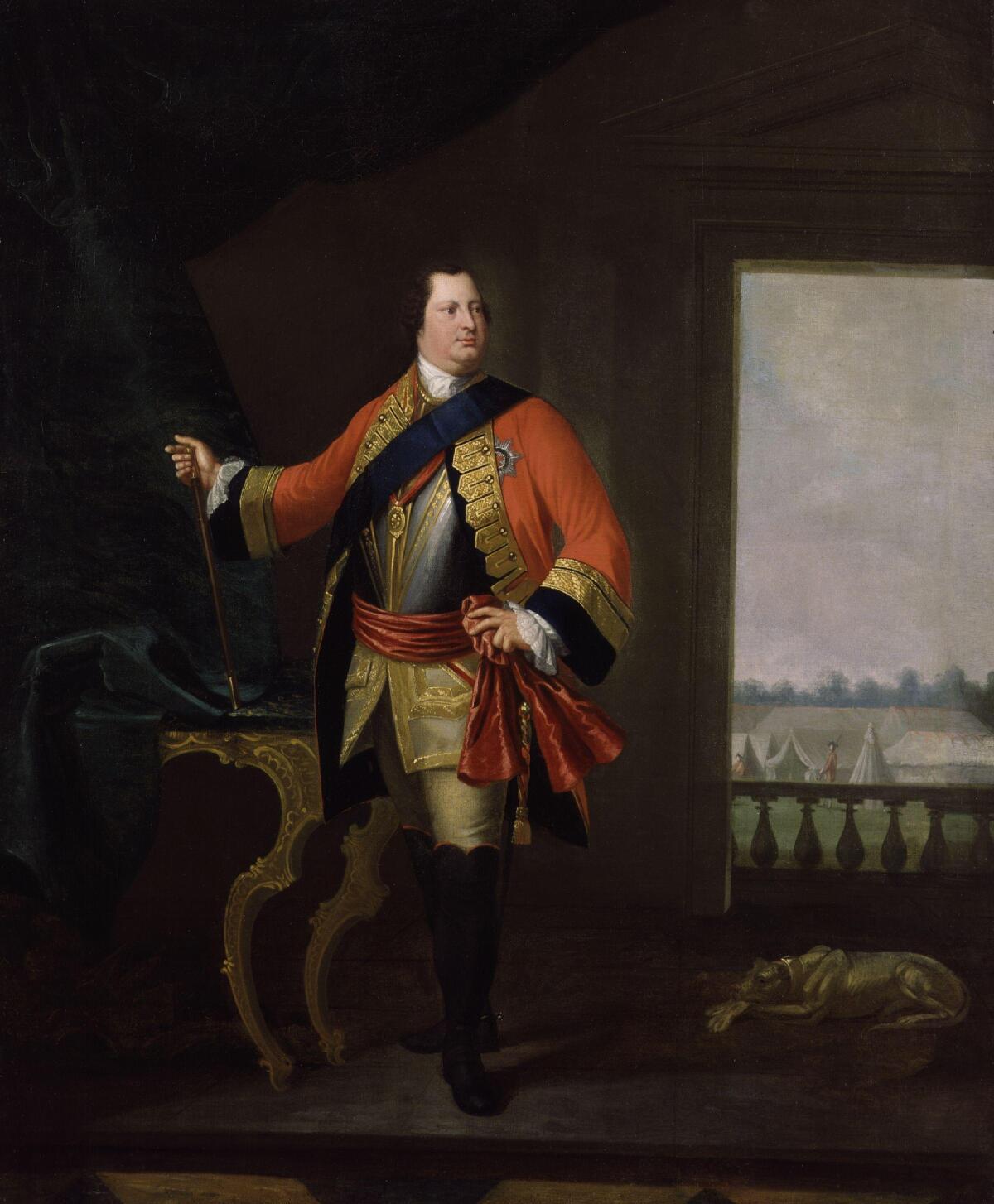 Вильгельм Август герцог Камберлендский, около 1748 года