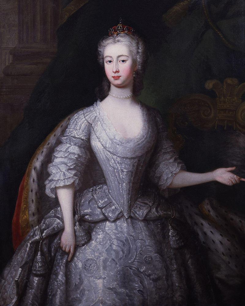 Принцесса Августа Саксен-Готская, 1736 год