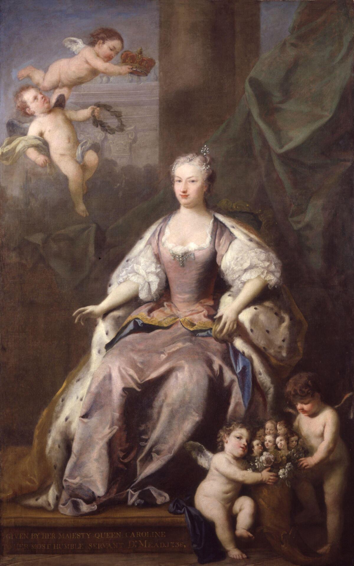 Каролина Бранденбург-Ансбахская, жена Георга II