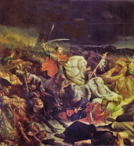 «Куликовская битва», Адольф Ивон