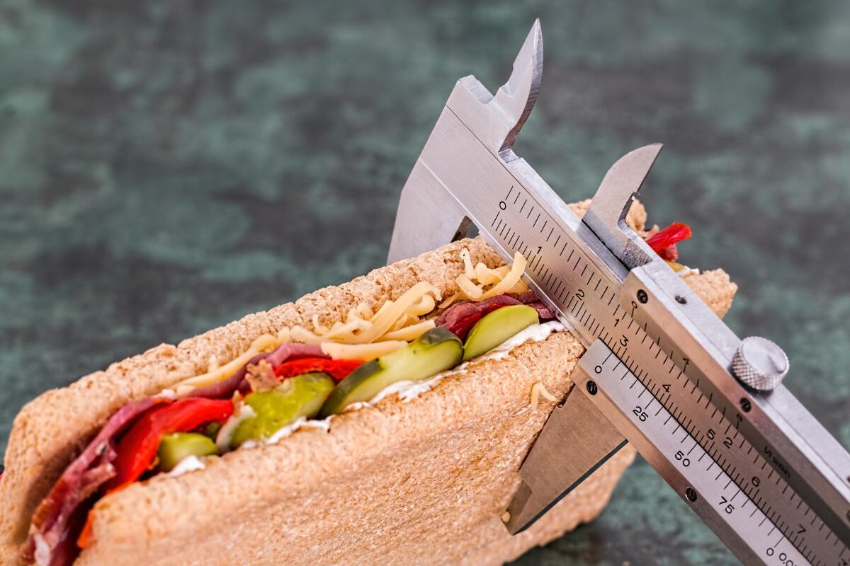 Подсчитайте калорийность блюд