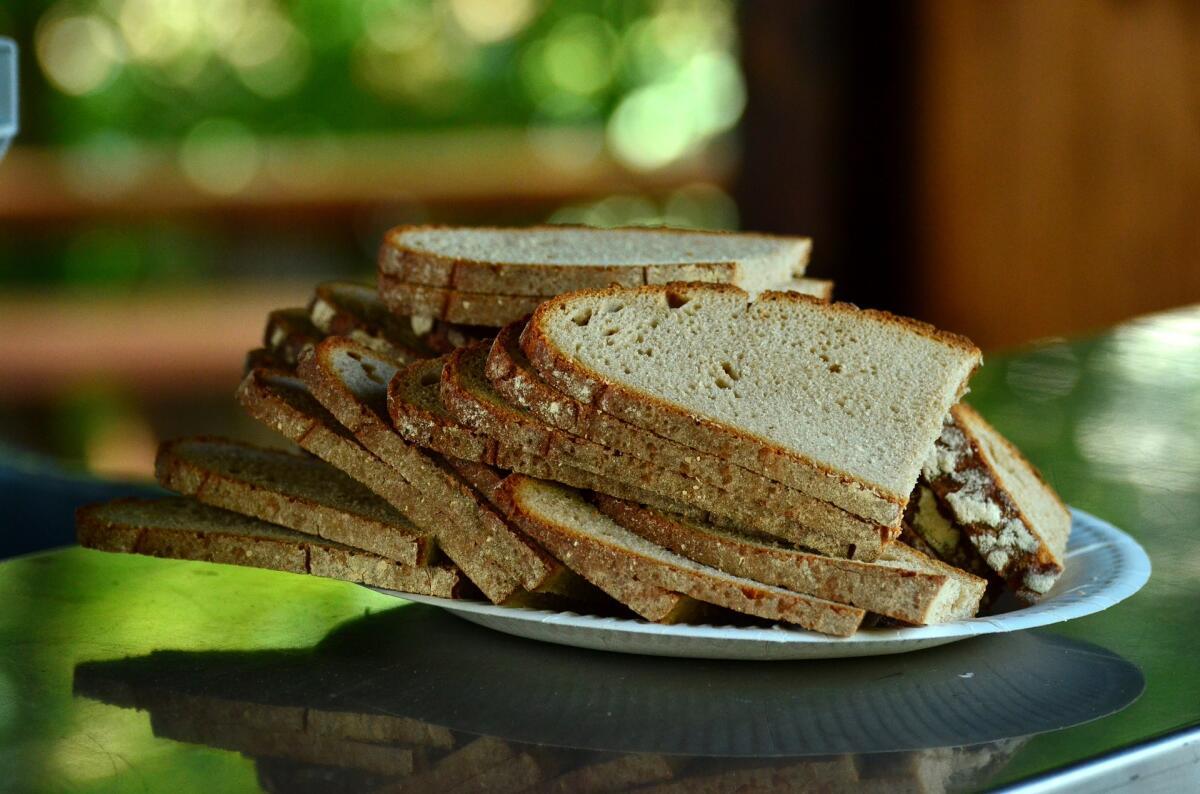 Хлеб в виде сухарей
