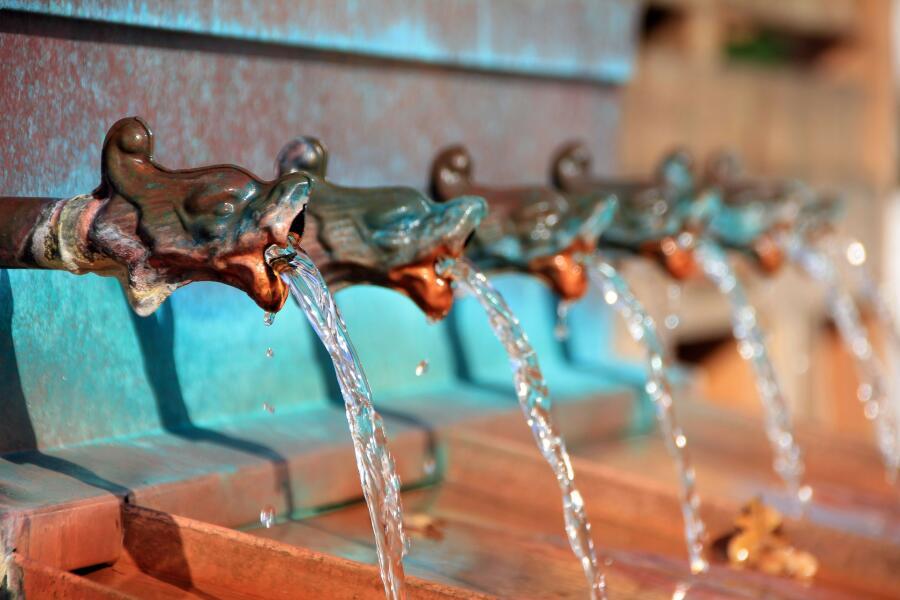 В чем разница между водопотреблением у нас и у них?