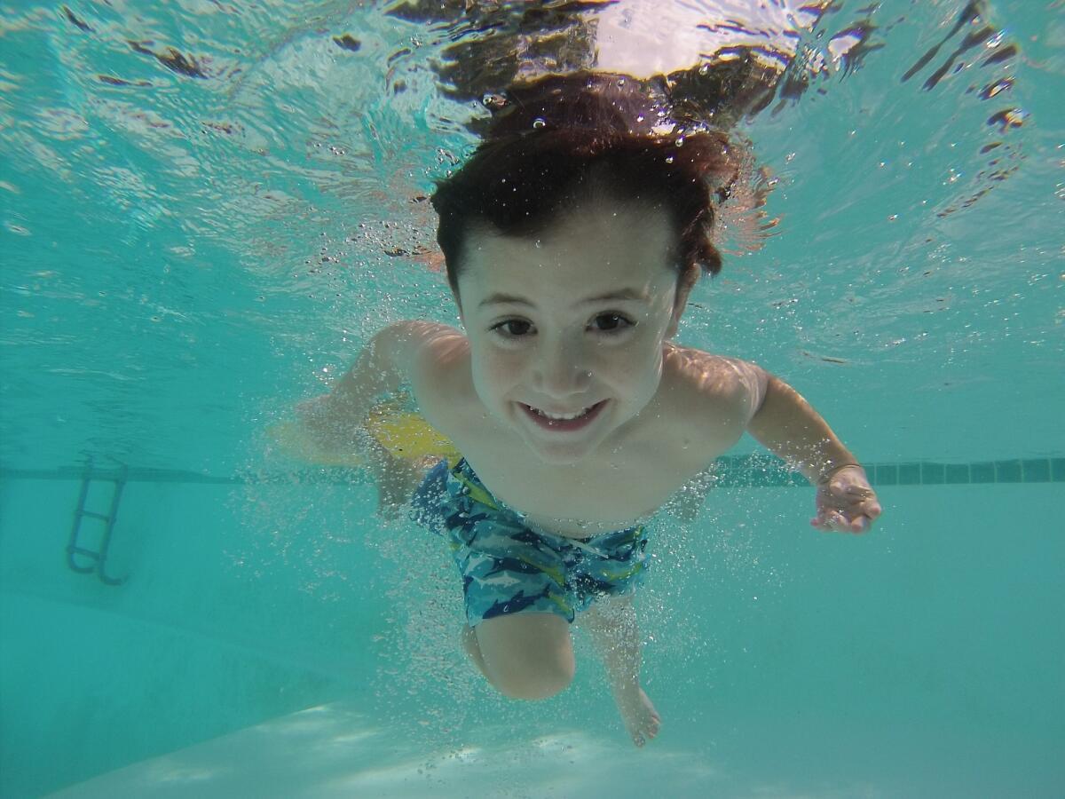 Плавание улучшает приток и отток крови из сердечно-сосудистой системы