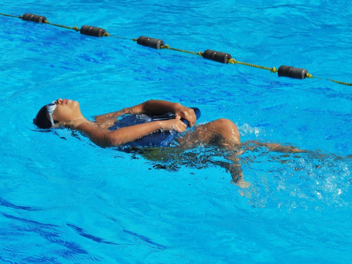 Занятия в воде помогают справиться с депрессией