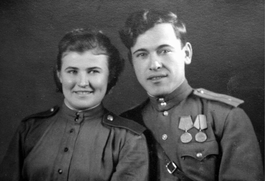 Анна и Борис Тагировы