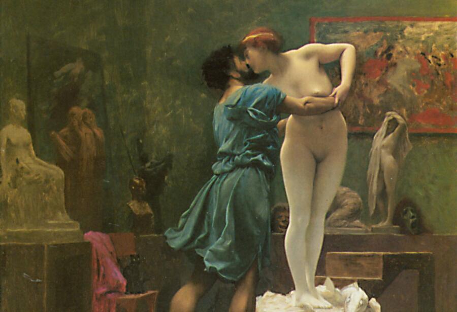 «Пигмалион и Галатея», Жан-Леон Жером