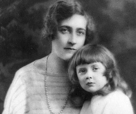 Агата с дочерью Розалиндой