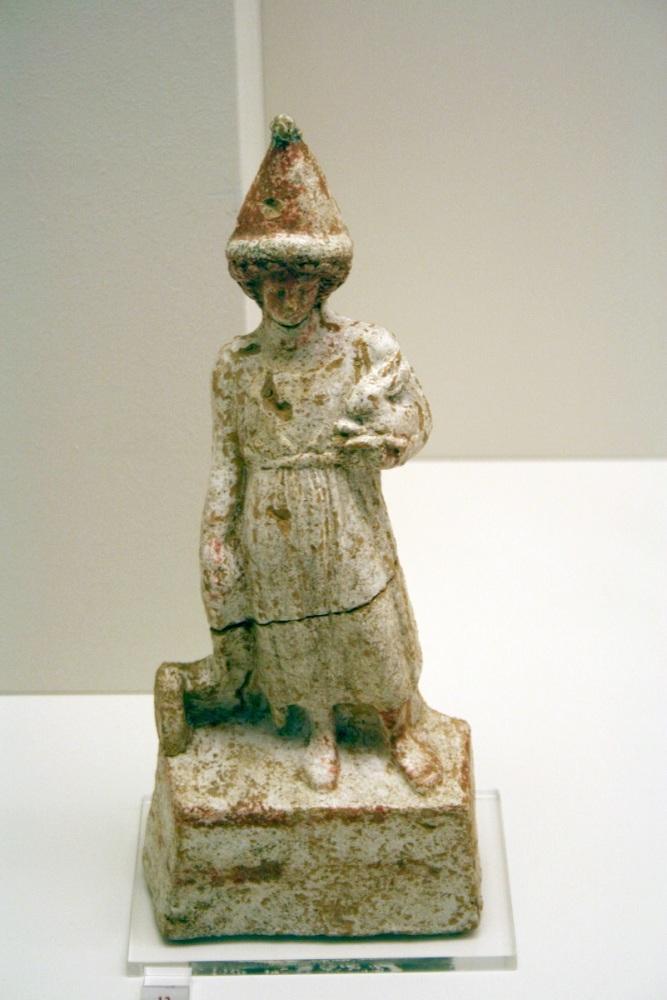 Мальчик с игрушками, Археологический музей, Афины, Греция