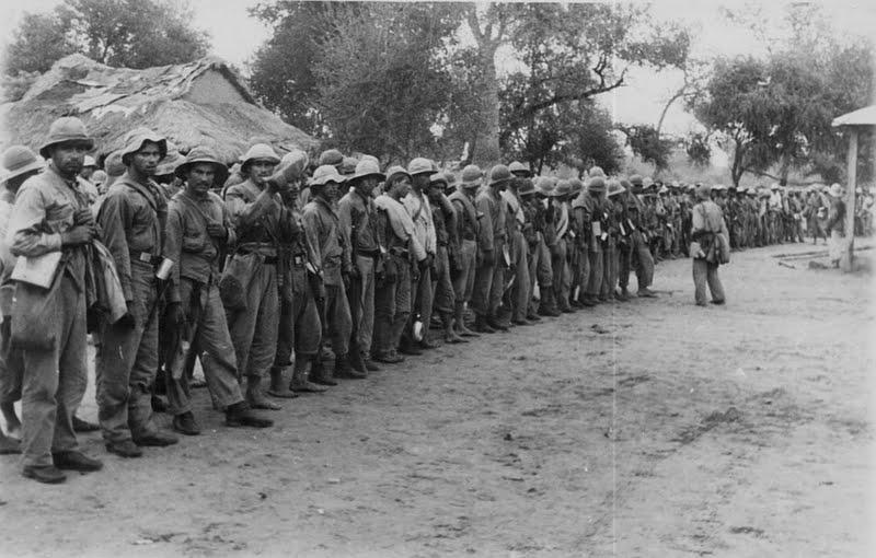 Парагвайские солдаты, 1932 год
