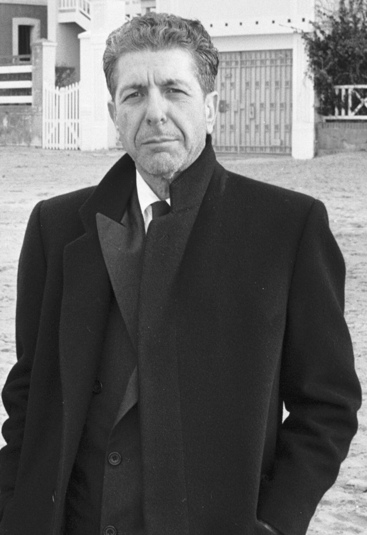 26 января 1988 года. Леонард Коэн в Трувиль-сюр-Мер, Франция