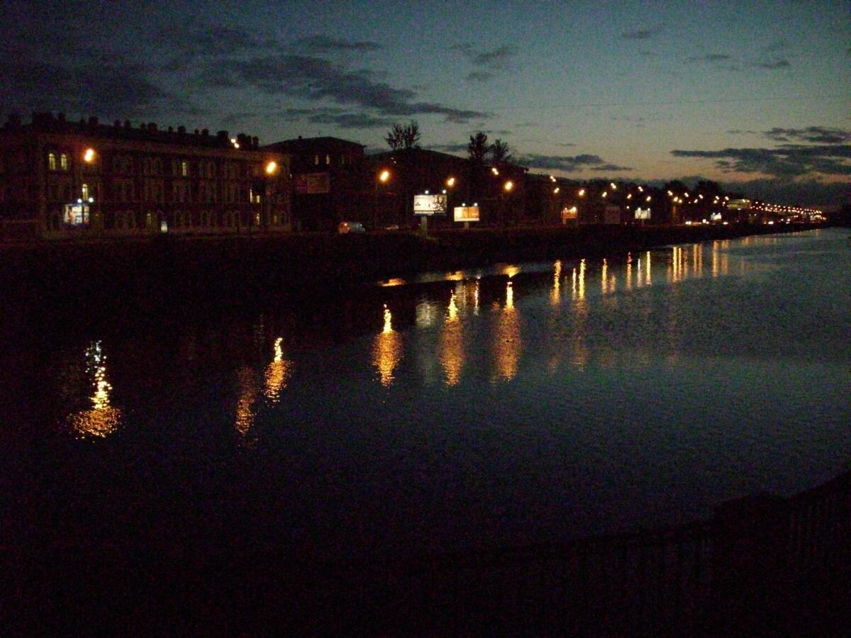 Обводный канал. Ночь