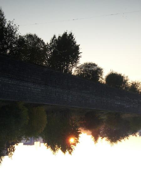 Обводный канал. Утро