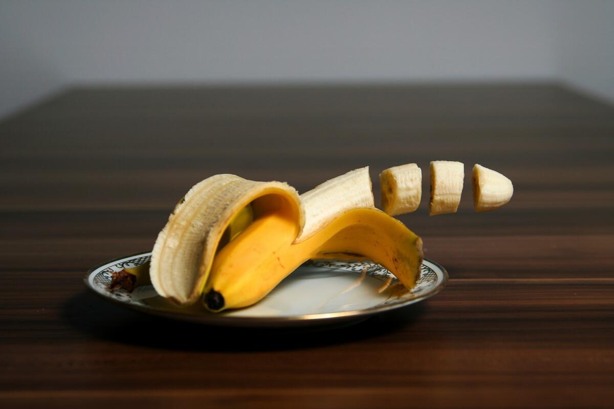 Банановый гарнир готовится легко