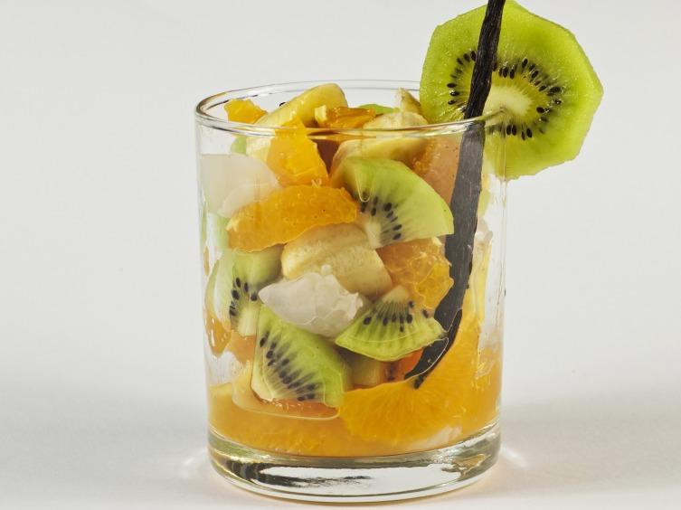 Фото салат фруктовый коктейль