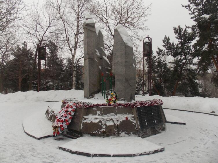 Мемориал уроженцам Карелии, погибшим в Афганистане