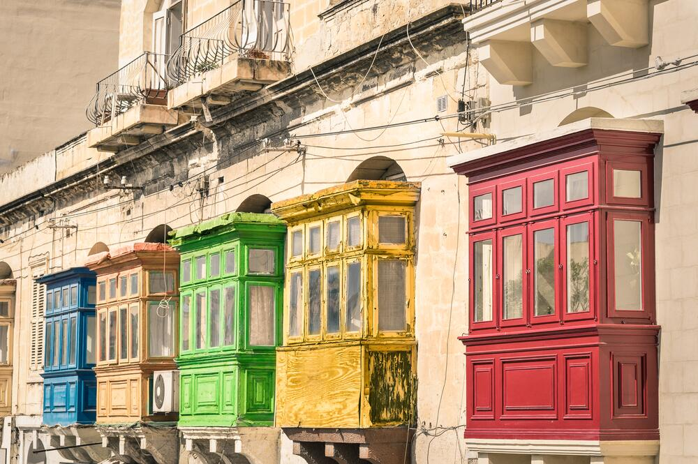 Балкончики в Валлетте