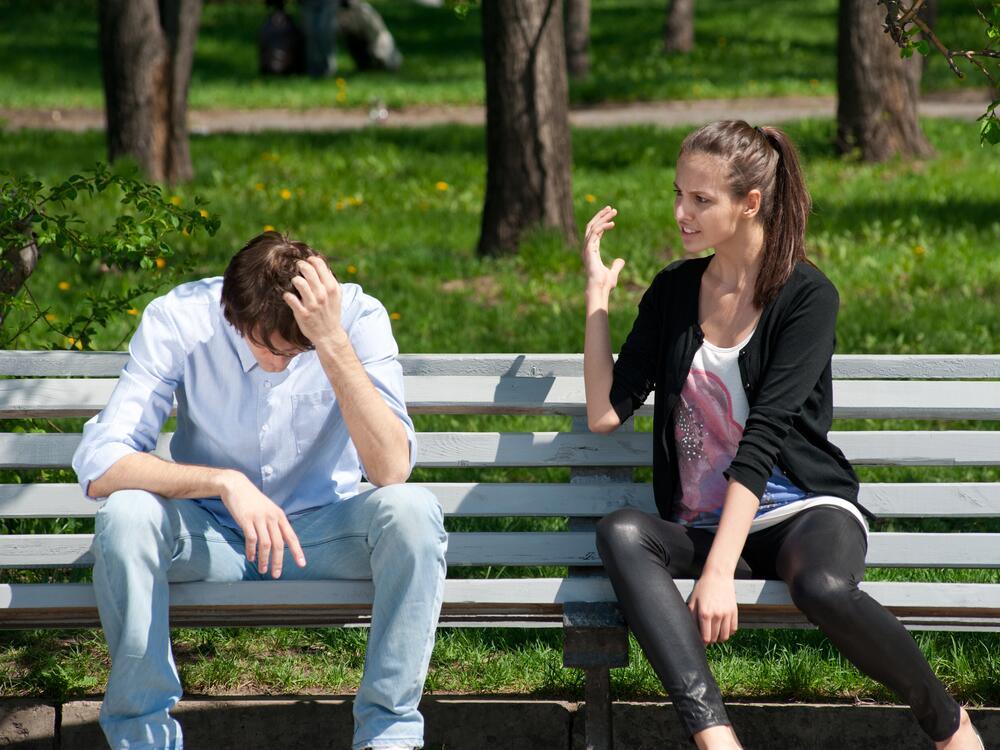 Бурные конфликты разрушают отношения