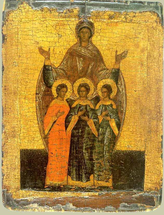 Новгородская икона, XVI век