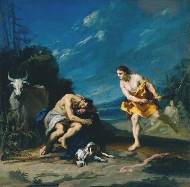 Якопо Амигнони, Меркурий убивает спящего Аргуса,1730