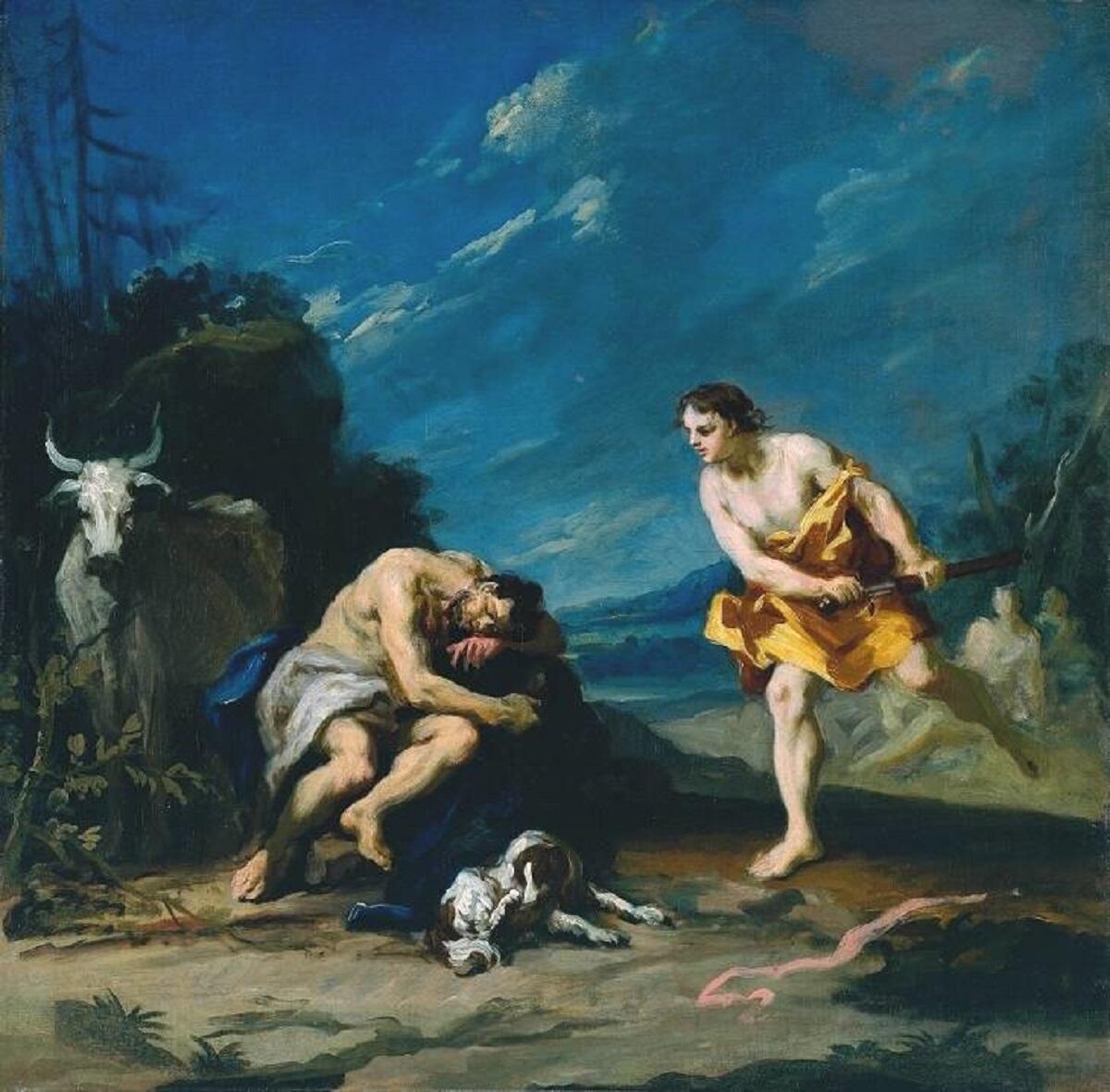 Якопо Амигнони, Меркурий убивает спящего Аргуса, 1730