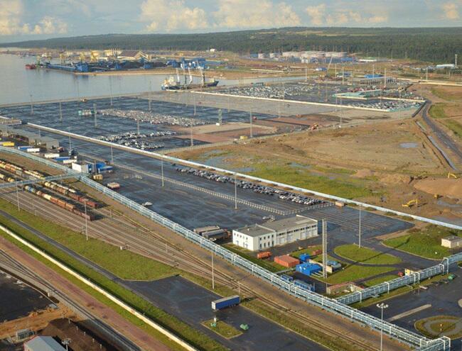 Усть-Луга — самый большой строящийся порт на Балтике