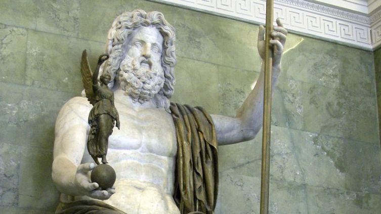 Статуя Юпитера (Зевса) в Эрмитаже