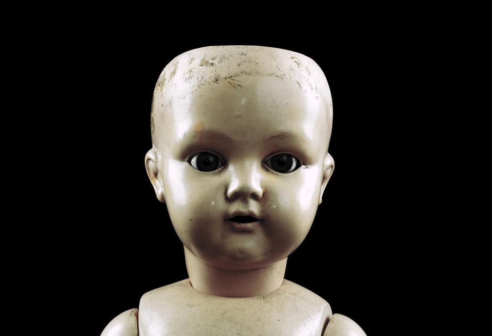 Кукла до реставрации