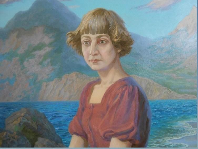 Портрет Марины Цветаевой