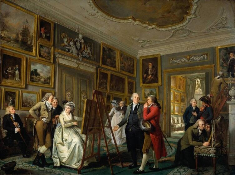 Адриан де Лели, Художественная галерея Яна Гильдмейстера, 1794, 64х85 см, Rijksmuseum, Амстердам, Нидерланды