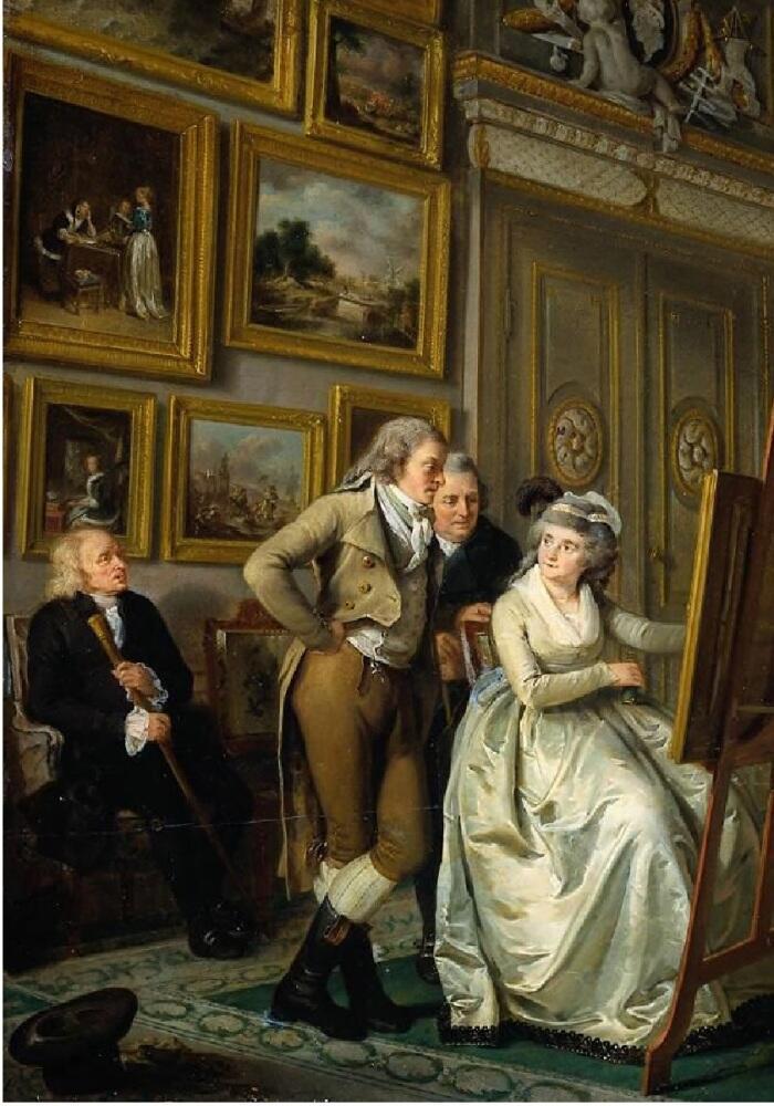 Адриан де Лели, Художественная галерея Яна Гильдмейстера, фрагмент